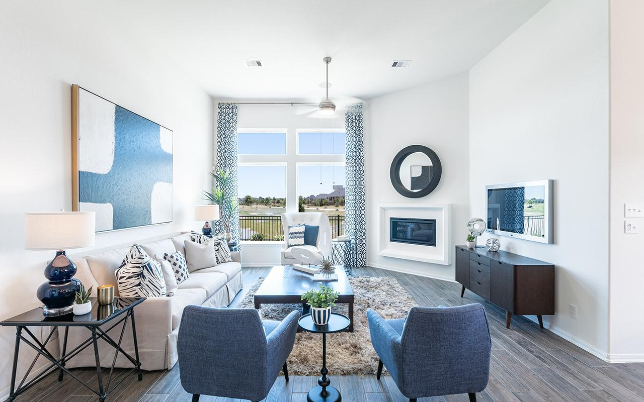 Living Area featured in the Creede-Silver By CastleRock Communities in Houston, TX