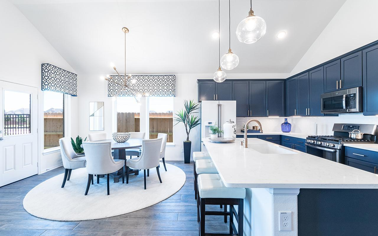 Kitchen featured in the Creede-Silver By CastleRock Communities in Houston, TX
