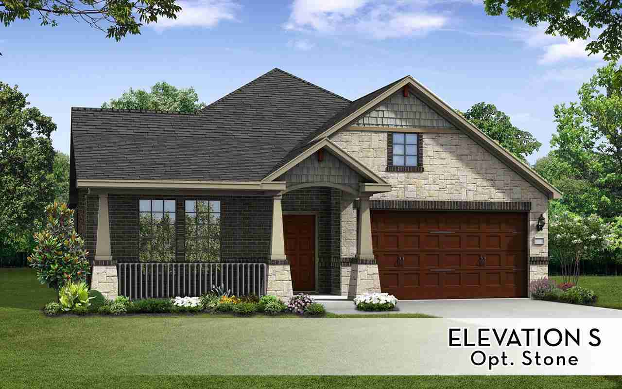 Glenwood Elev S Optional Stone