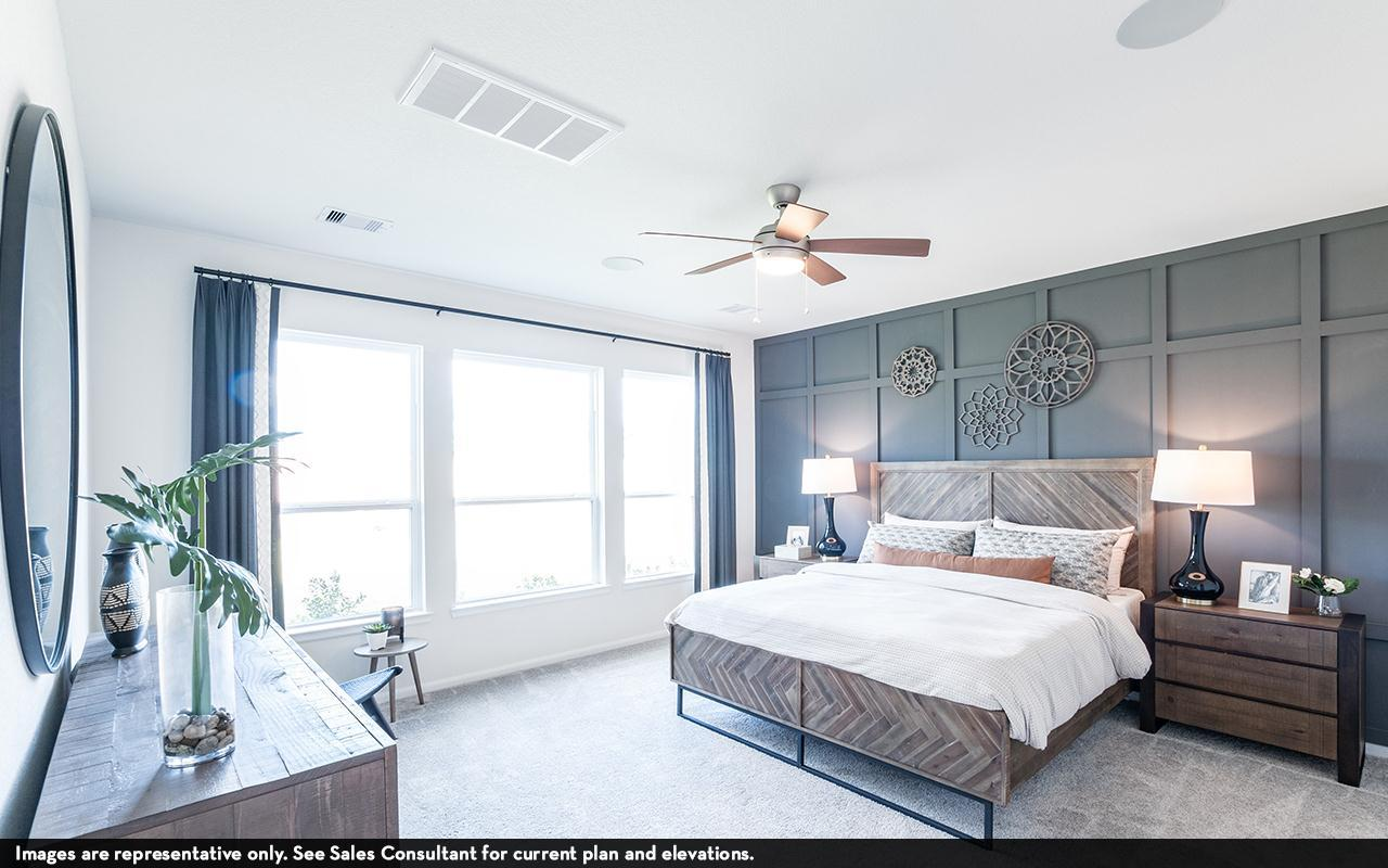 Bedroom featured in the Silverthorne-Silver By CastleRock Communities in Houston, TX