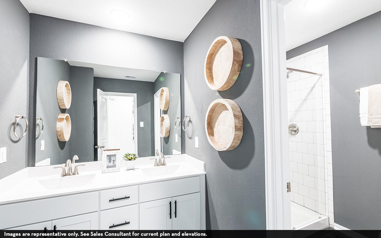 Bathroom featured in the Silverthorne-Silver By CastleRock Communities in Houston, TX