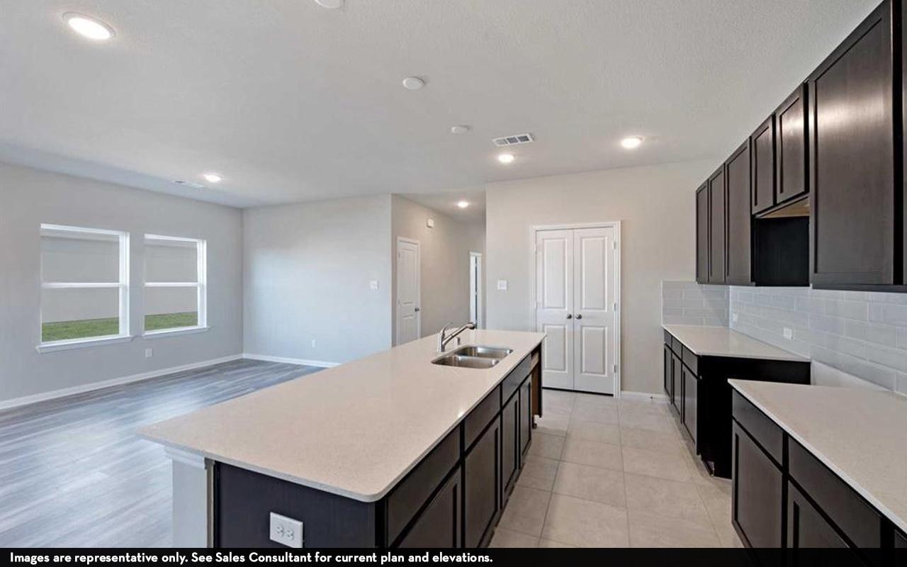 Kitchen featured in the Pedernales-Cobalt By CastleRock Communities in Austin, TX