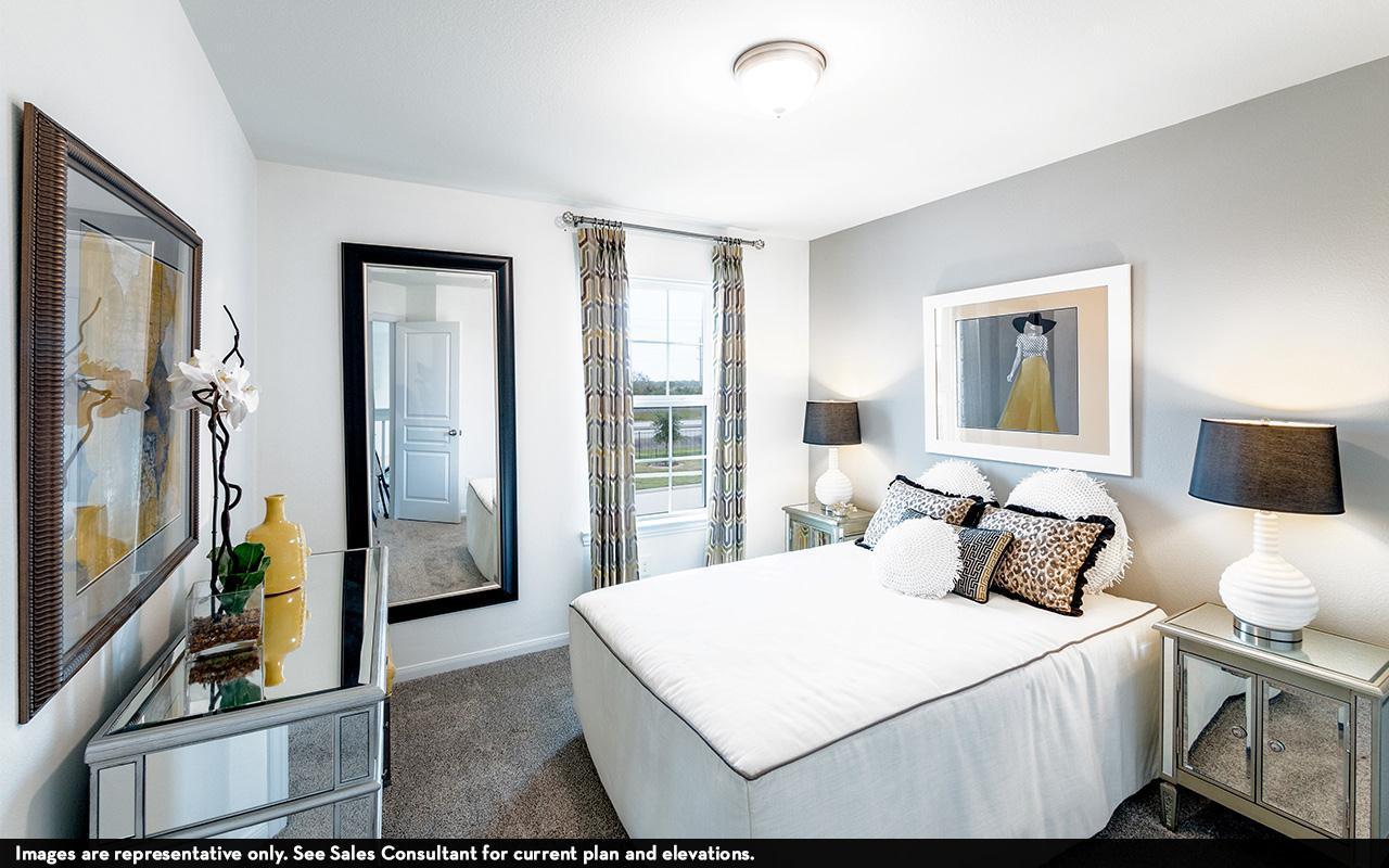 Bedroom featured in the Trinity-Cobalt By CastleRock Communities in Austin, TX