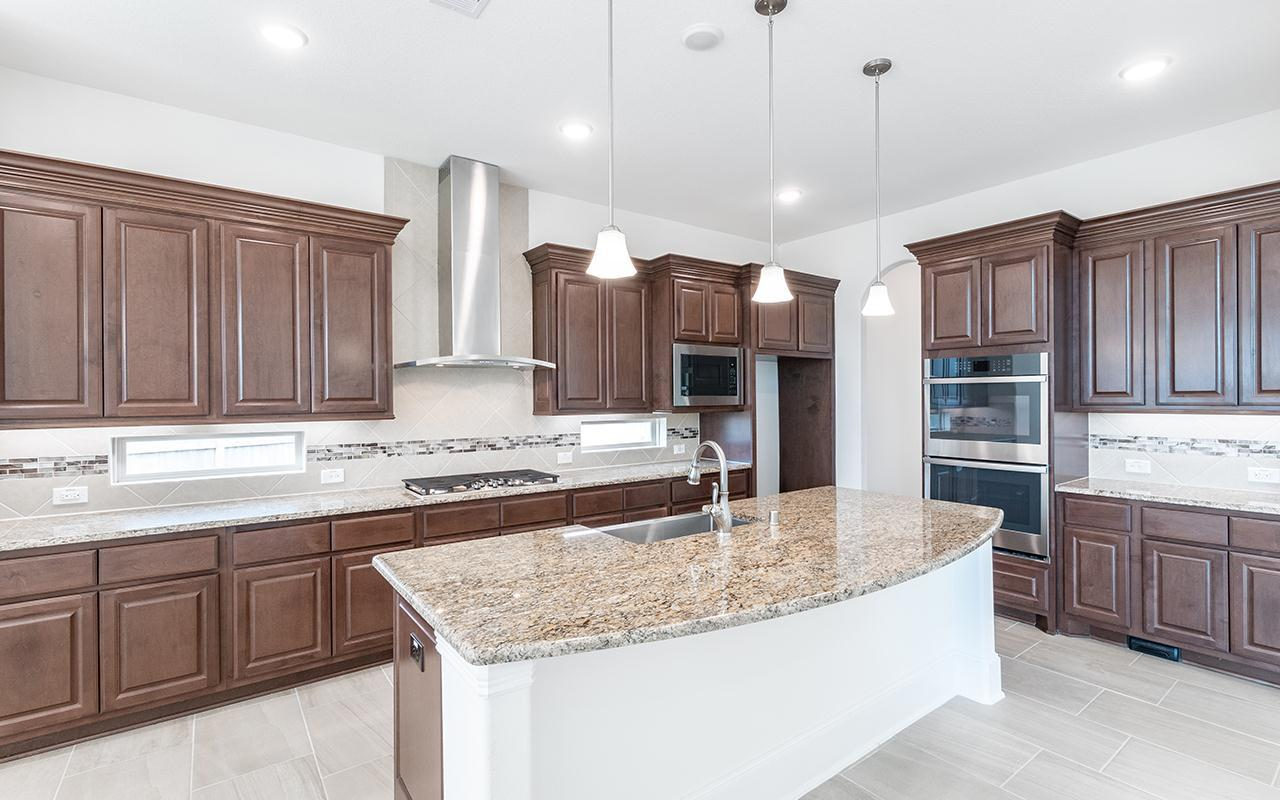 Kitchen featured in the Picasso-Mercury Luxury Home By CastleRock Communities in Brazoria, TX