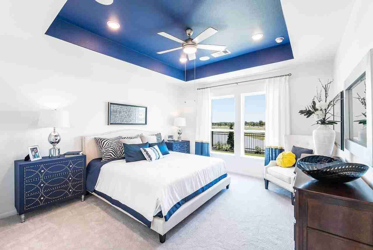 Summer Lakes Master Bedroom