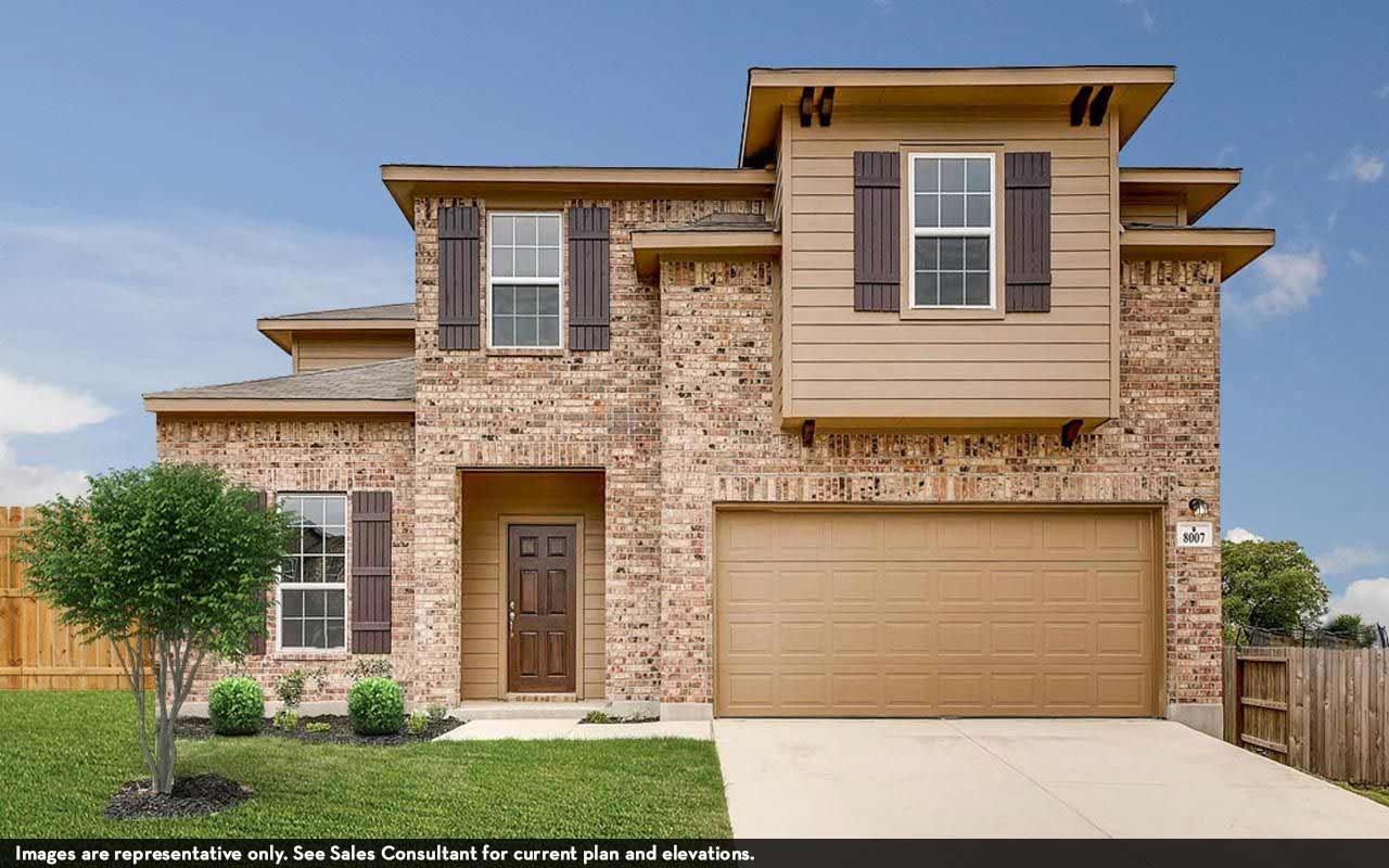 Exterior featured in the Hayden-Silver By CastleRock Communities in Brazoria, TX