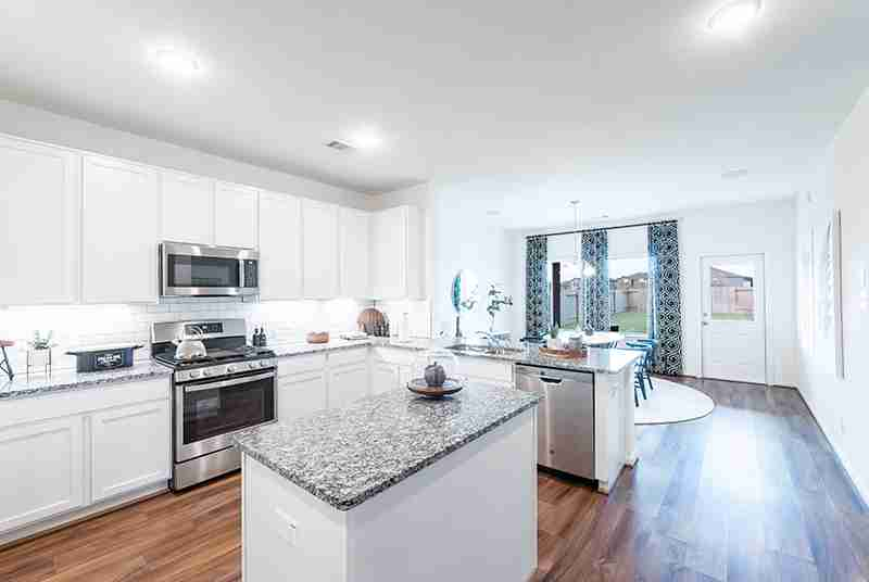 Windrow Model Home Kitchen