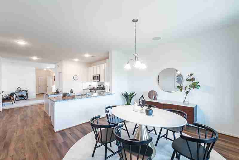 Windrow Model Home Dining