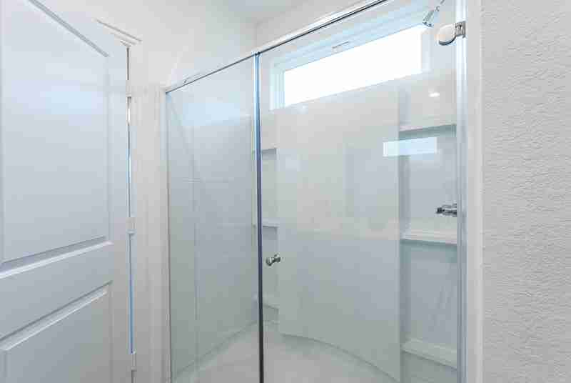 Windrow Model Home Super Shower