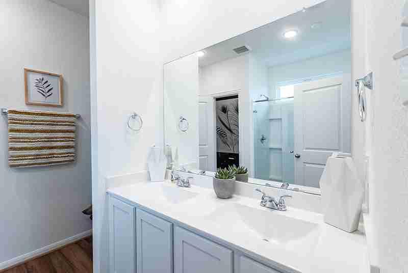 Windrow Model Home Master Bath