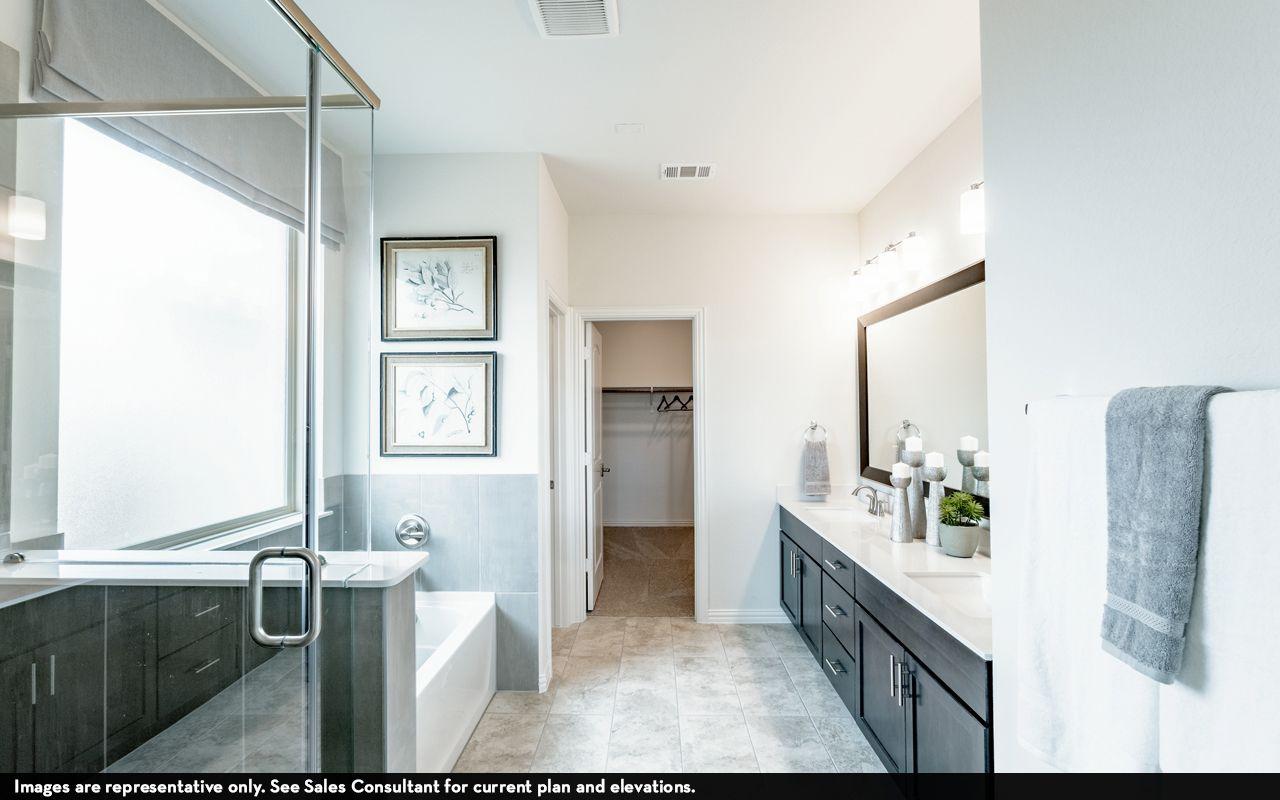 Bathroom featured in the Greeley-Silver By CastleRock Communities in Brazoria, TX