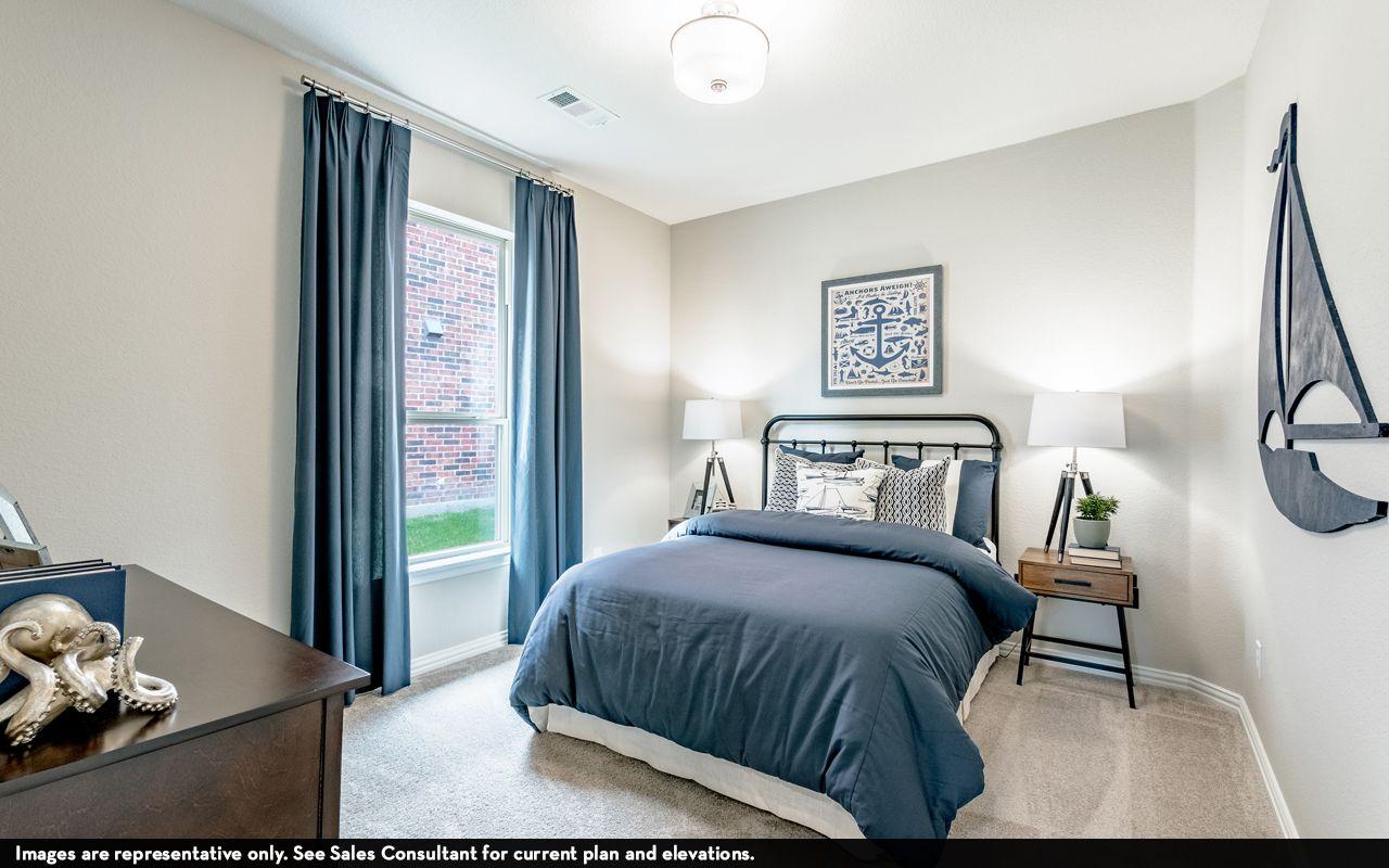 Bedroom featured in the Greeley By CastleRock Communities in Brazoria, TX