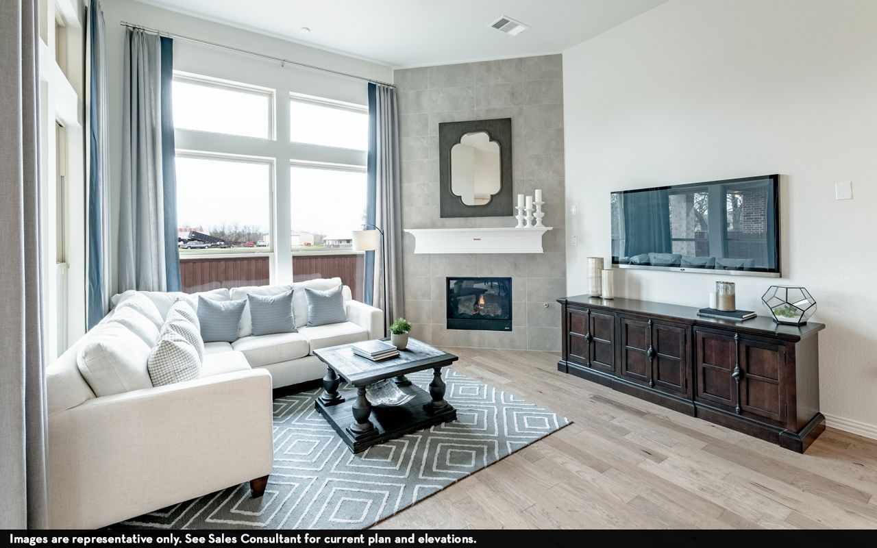 Living Area featured in the Greeley-Silver By CastleRock Communities in Houston, TX