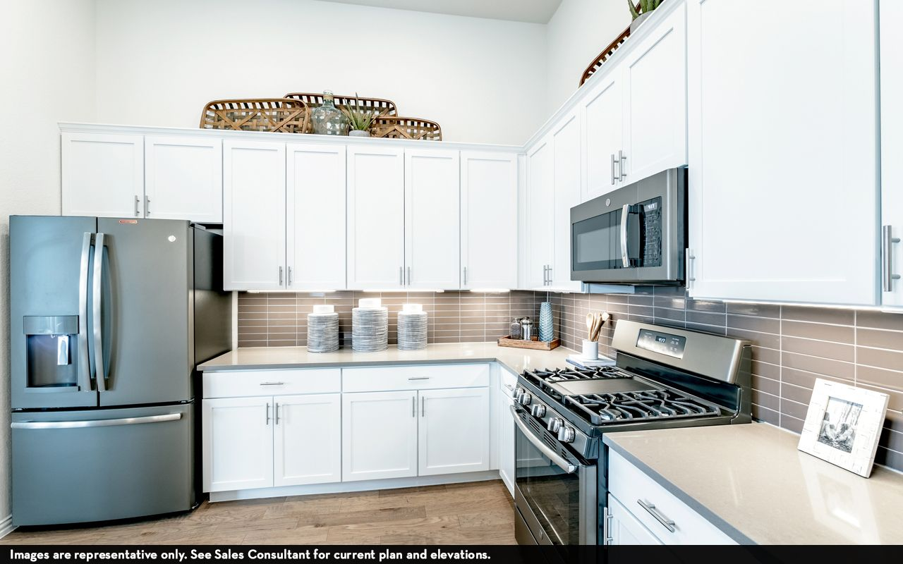 Kitchen featured in the Greeley-Silver By CastleRock Communities in Austin, TX