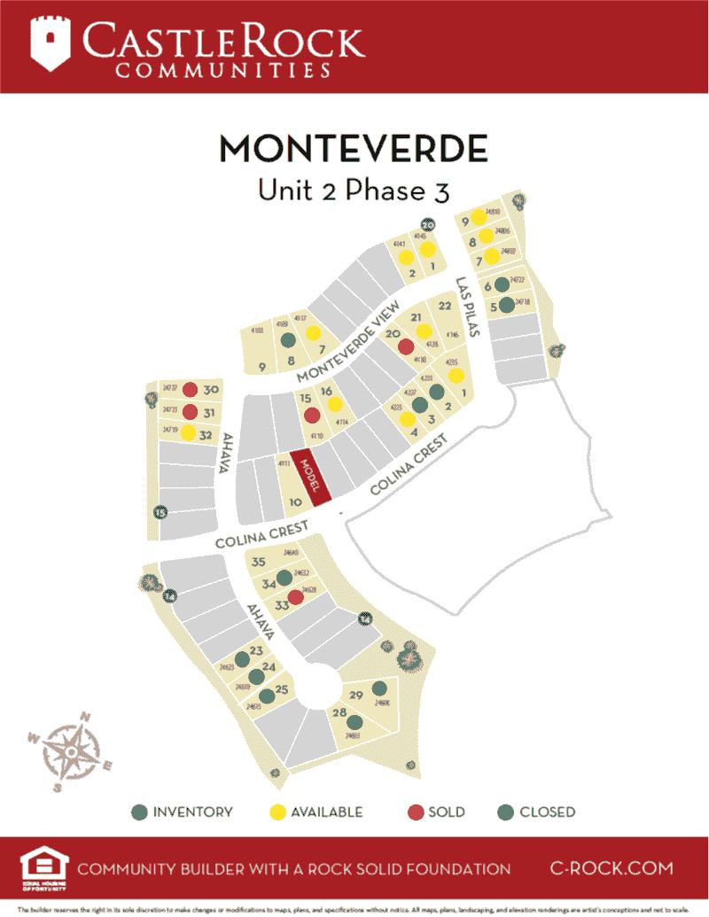 Monteverde Site Map