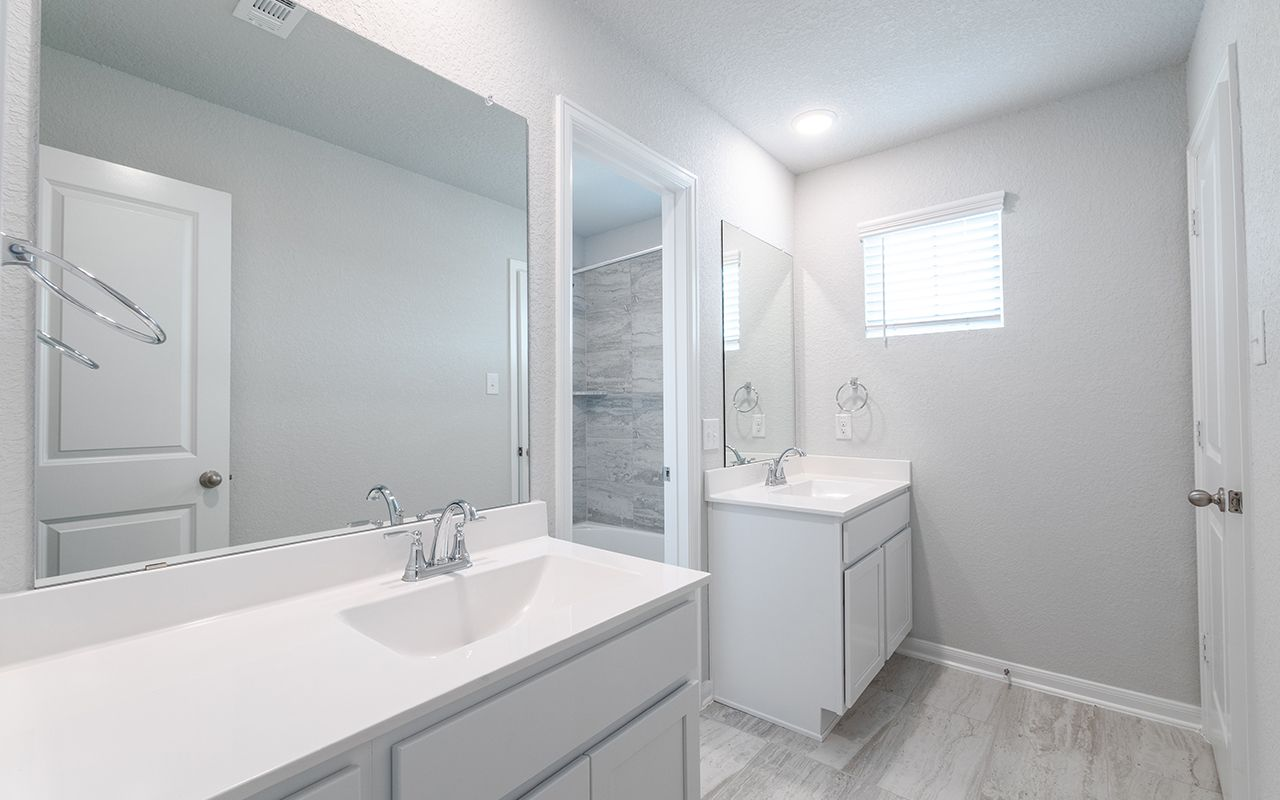 Bathroom featured in the San Marcos-Silver By CastleRock Communities in San Antonio, TX