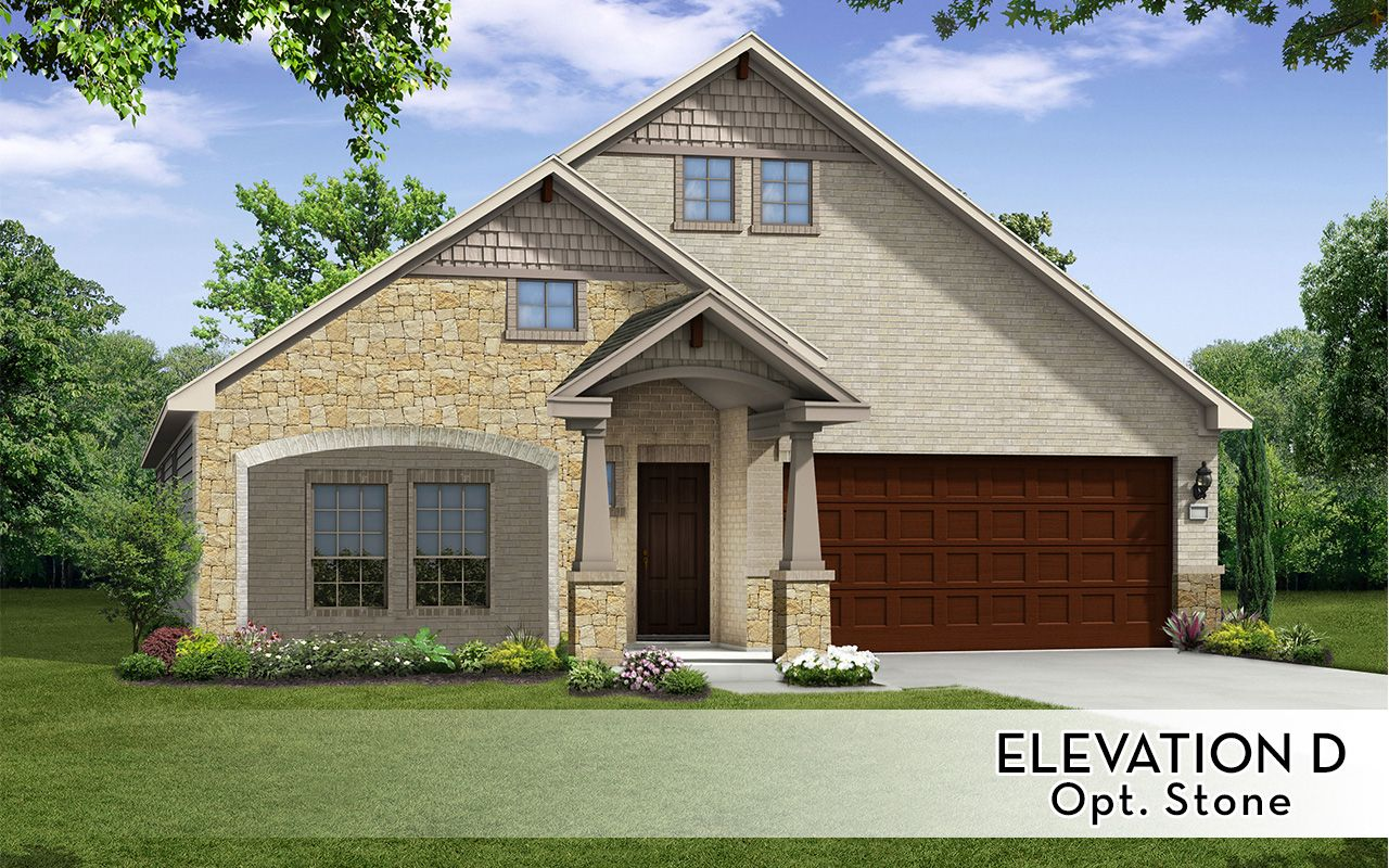 Exterior featured in the Frost-Silver By CastleRock Communities in Houston, TX