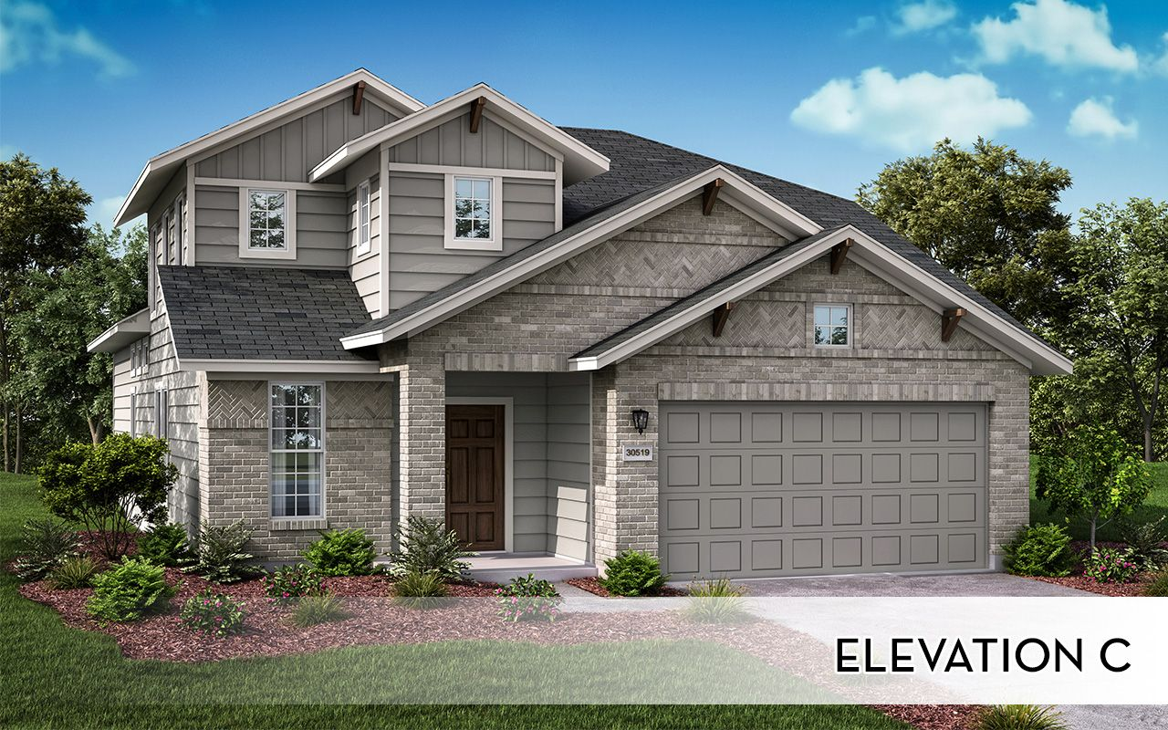 Exterior featured in the Chinook-Silver By CastleRock Communities in San Antonio, TX
