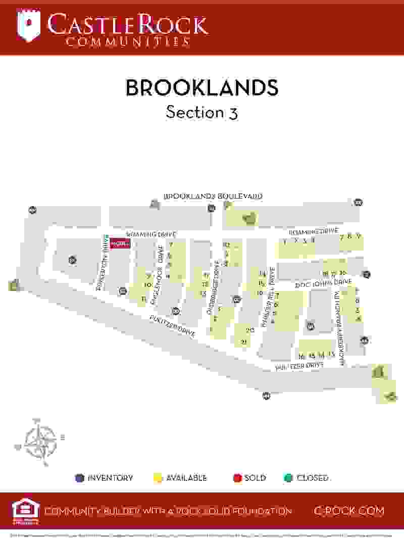 Brooklands Section 3 Map