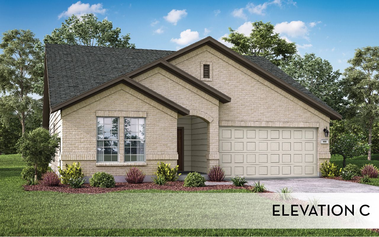 Exterior featured in the Creede-Silver By CastleRock Communities in Houston, TX