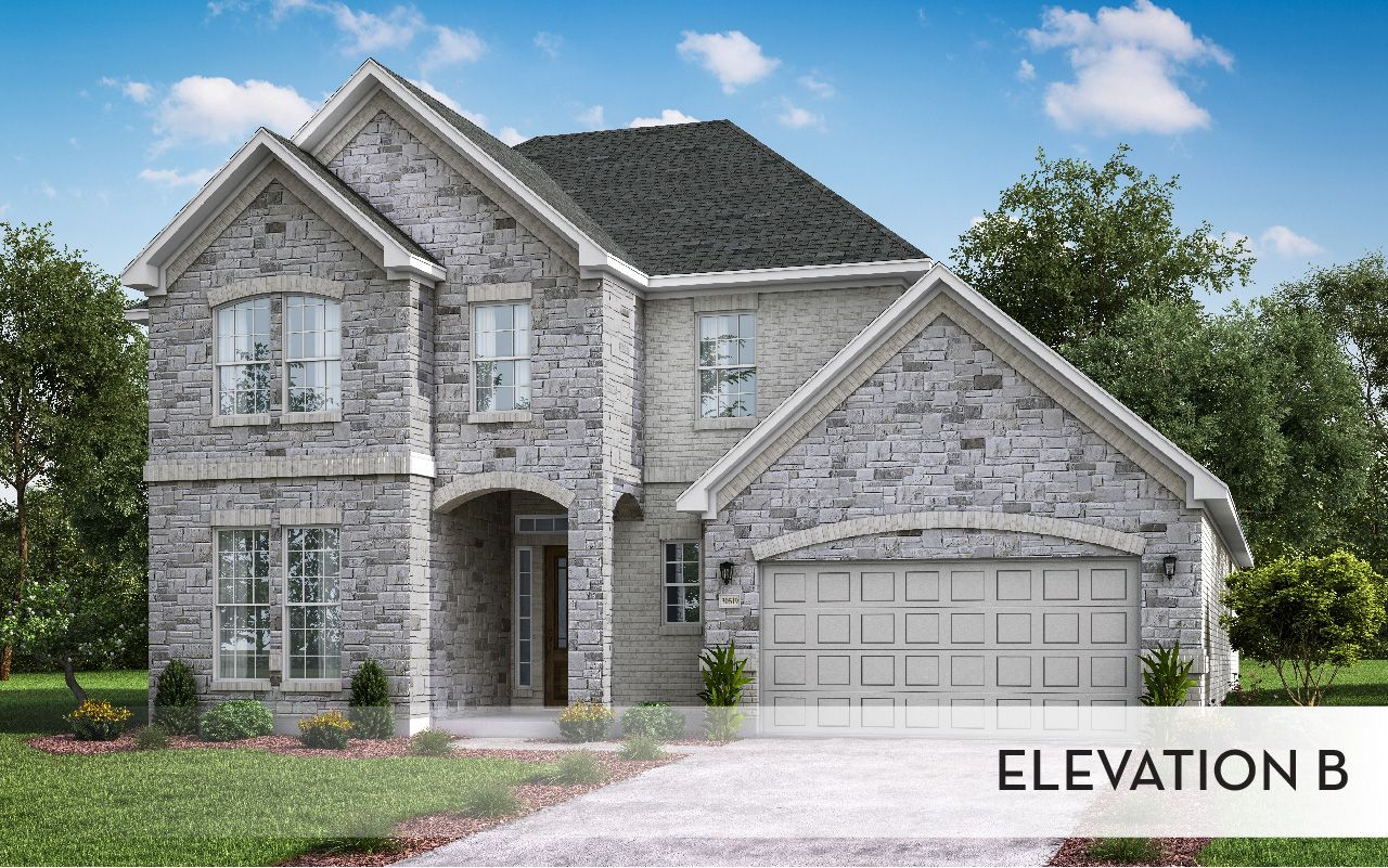 Exterior featured in the Sonora-Gold By CastleRock Communities in Dallas, TX