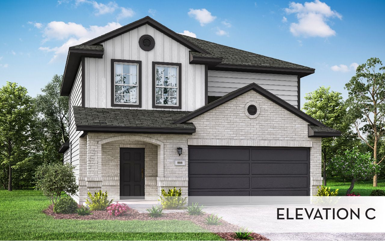 Exterior featured in the Ash-Cobalt By CastleRock Communities in Houston, TX