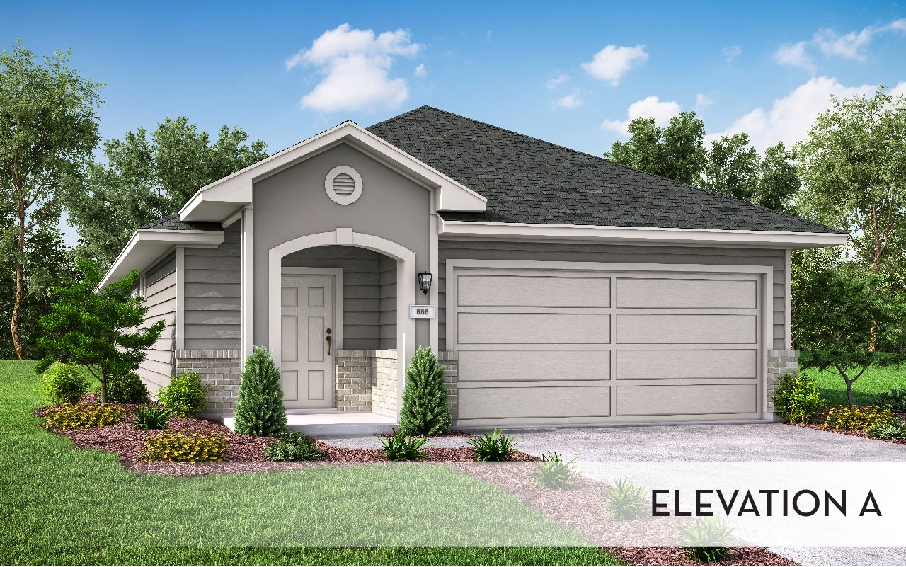 Exterior featured in the Maple-Cobalt By CastleRock Communities in Houston, TX