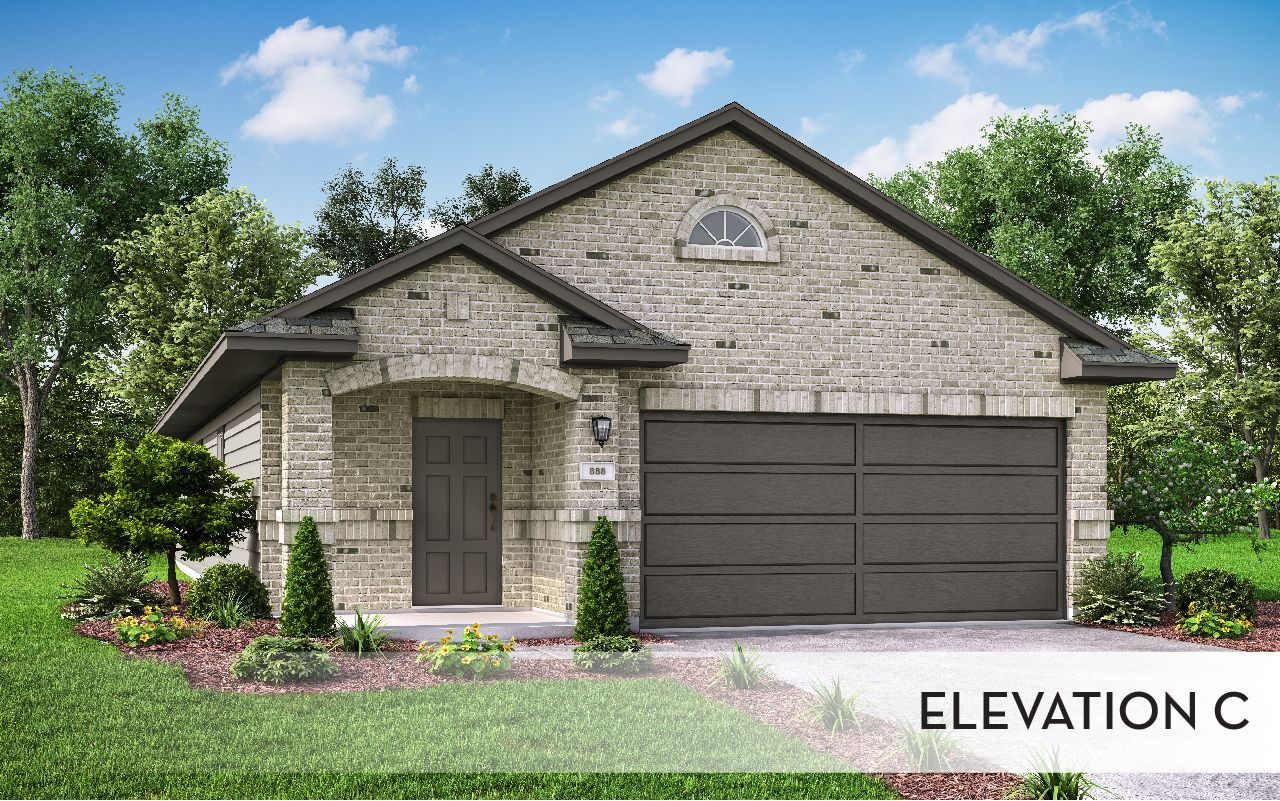 Exterior featured in the Pecan-Cobalt By CastleRock Communities in Houston, TX