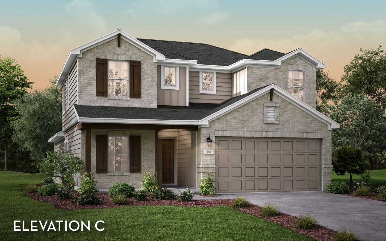 Exterior featured in the Blanco By CastleRock Communities in Houston, TX