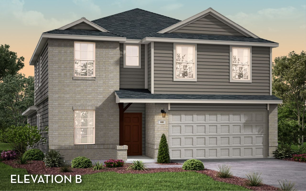 Exterior featured in the Concho-Cobalt By CastleRock Communities in Houston, TX
