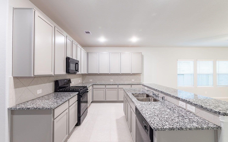 Kitchen featured in the Sabine-Cobalt By CastleRock Communities in Houston, TX