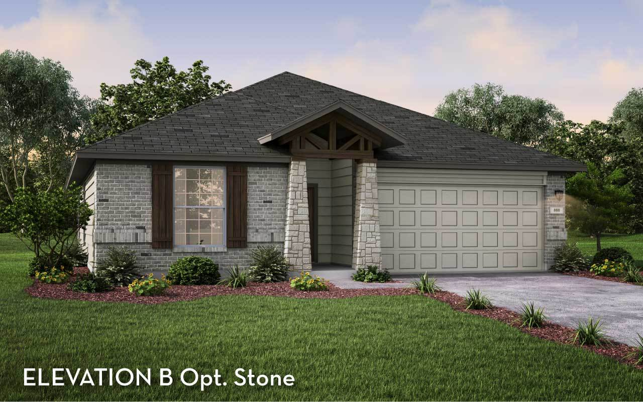 Exterior featured in the Creede-Silver By CastleRock Communities in Brazoria, TX