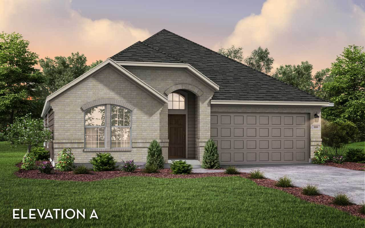 Exterior featured in the Glenwood-Silver By CastleRock Communities in Houston, TX