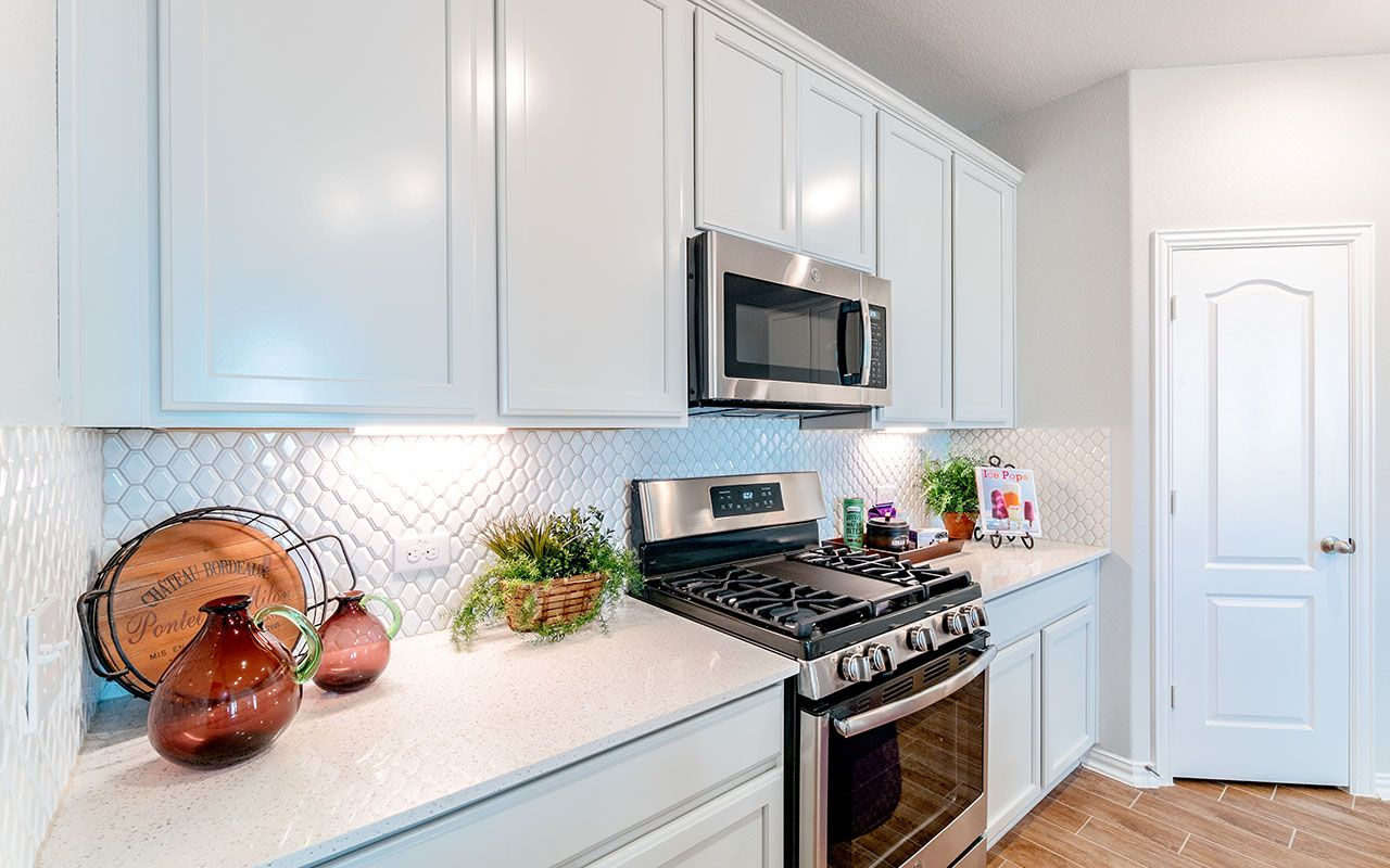 Kitchen featured in the Glenwood-Silver By CastleRock Communities in Brazoria, TX