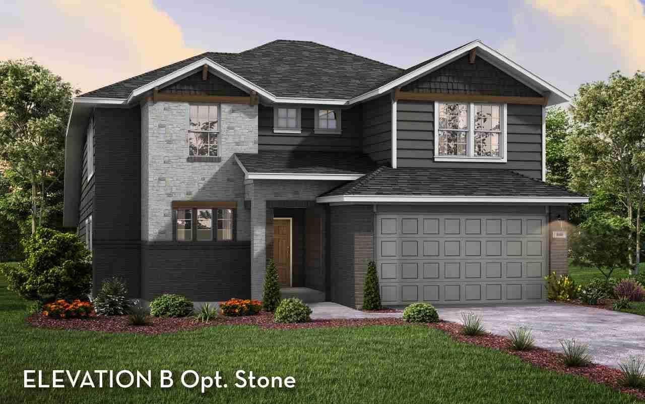 San Marcos Elev. B Opt. Stone