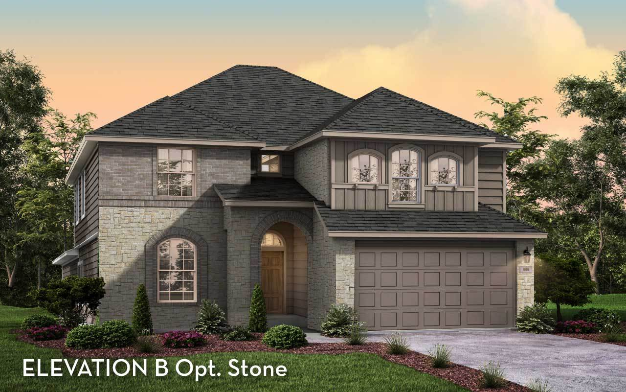 Exterior featured in the Snowmass-Silver By CastleRock Communities in Brazoria, TX