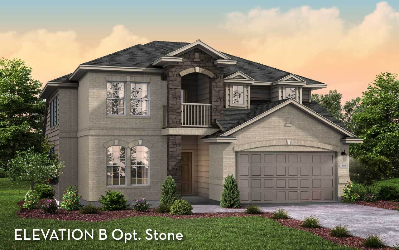 Exterior featured in the Silverthorne-Silver By CastleRock Communities in Houston, TX