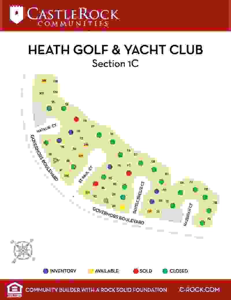 Heath Lot Map