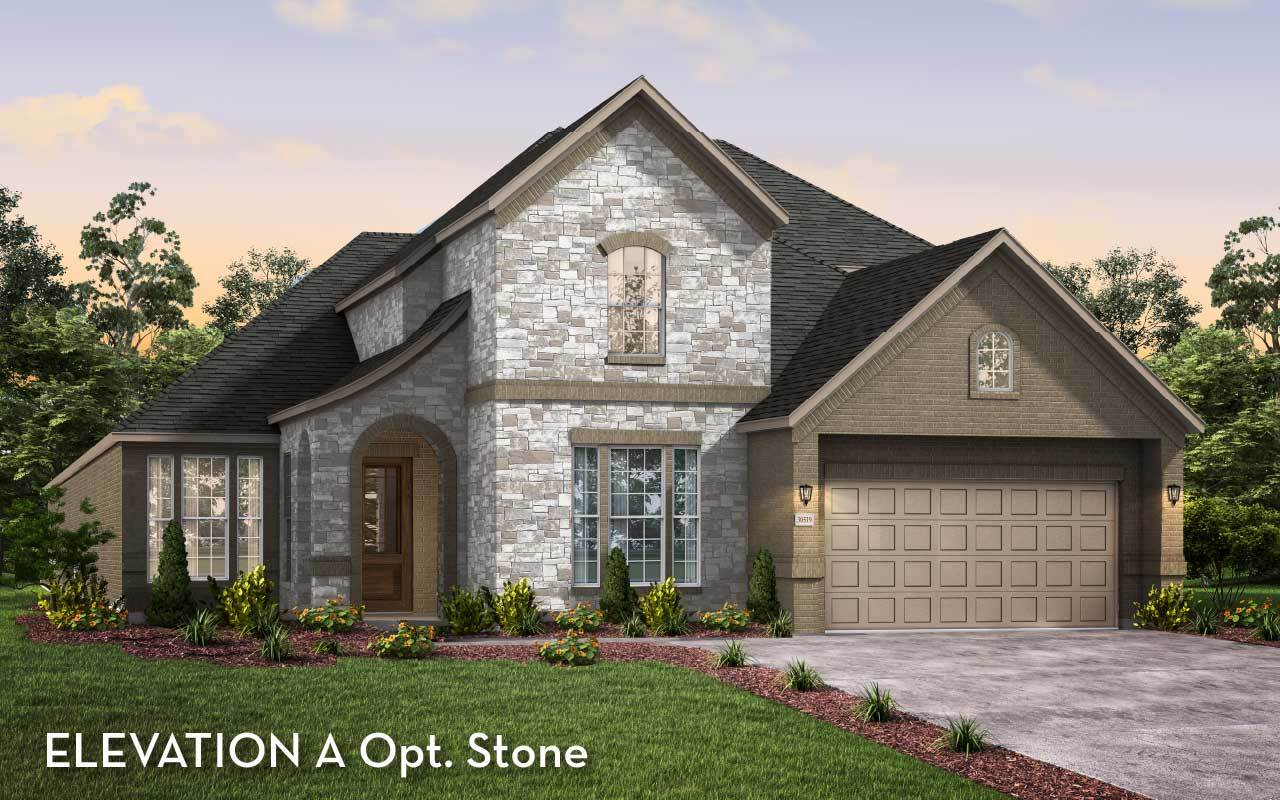 Exterior featured in the Artesia By CastleRock Communities in Houston, TX