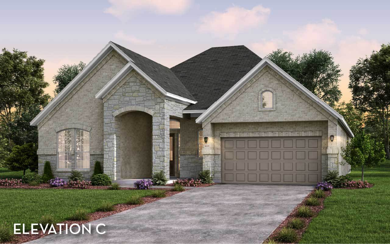 Exterior featured in the Capitola By CastleRock Communities in Houston, TX