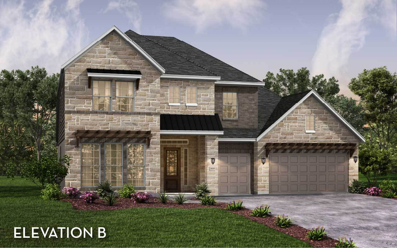 Exterior featured in the Catalina By CastleRock Communities in Houston, TX