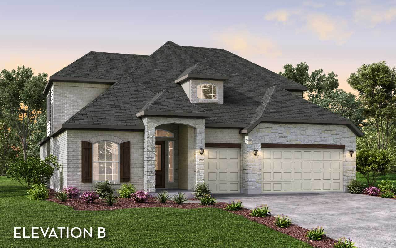 Exterior featured in the Eureka By CastleRock Communities in Houston, TX
