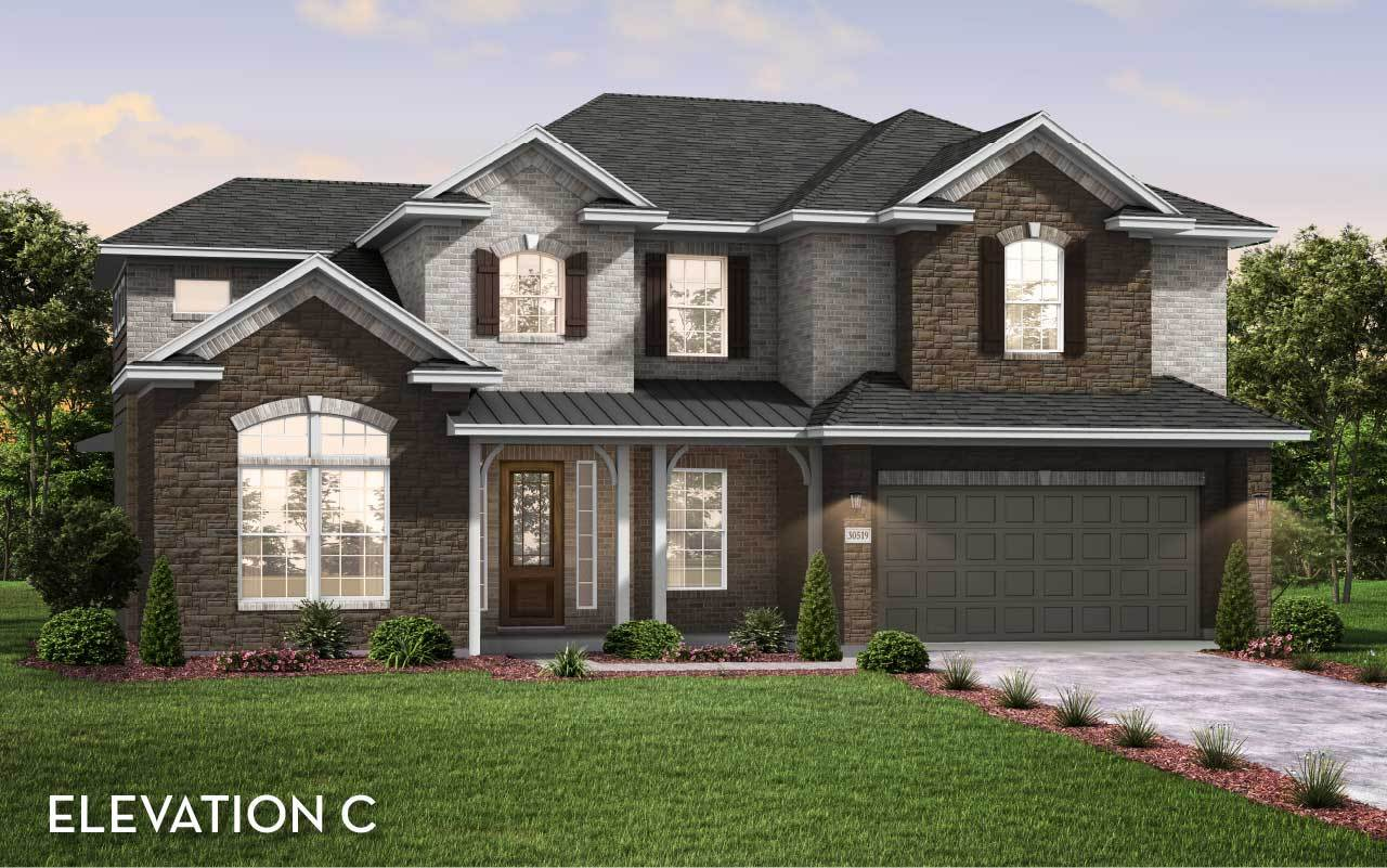 Exterior featured in the Fremont By CastleRock Communities in Houston, TX