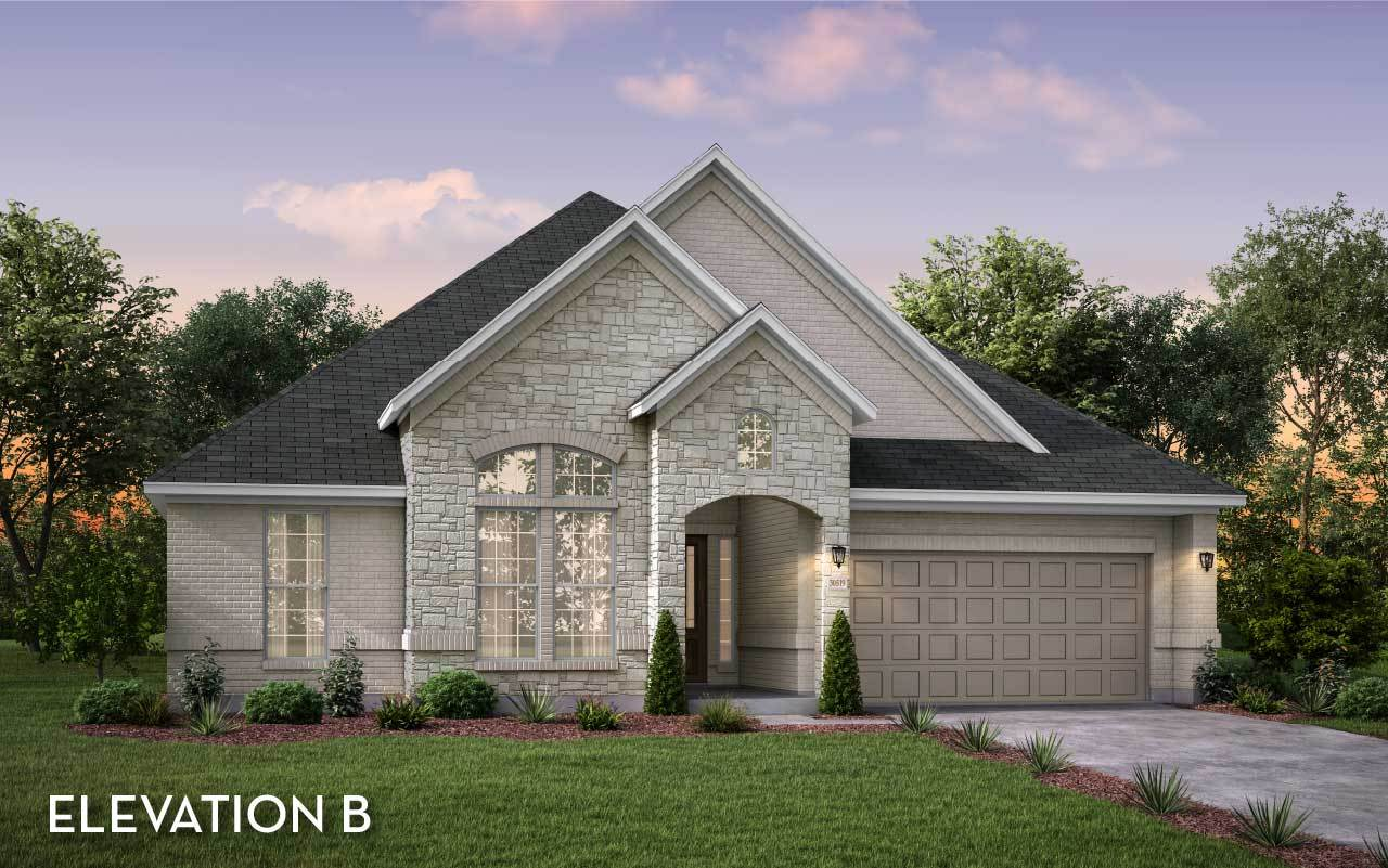 Exterior featured in the Malibu By CastleRock Communities in Houston, TX