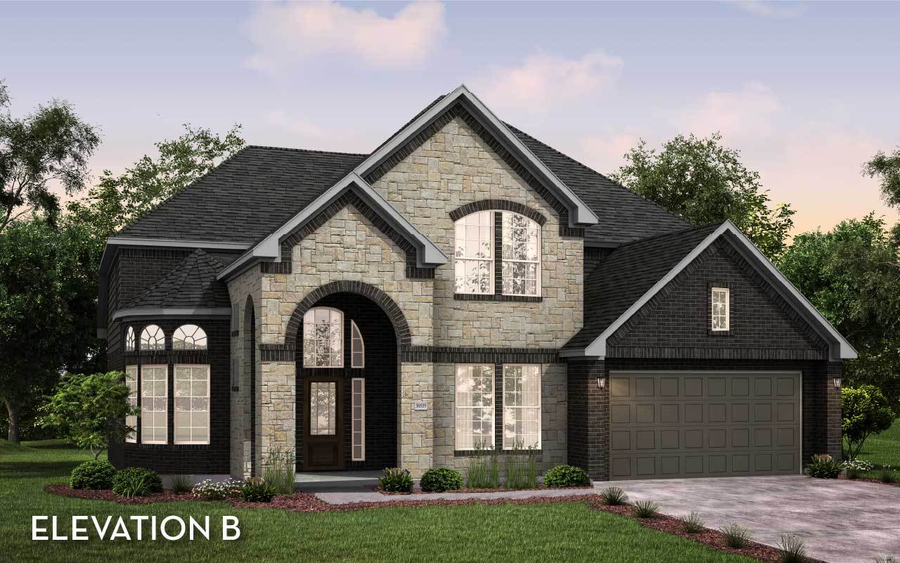 Exterior featured in the Sausalito By CastleRock Communities in Houston, TX