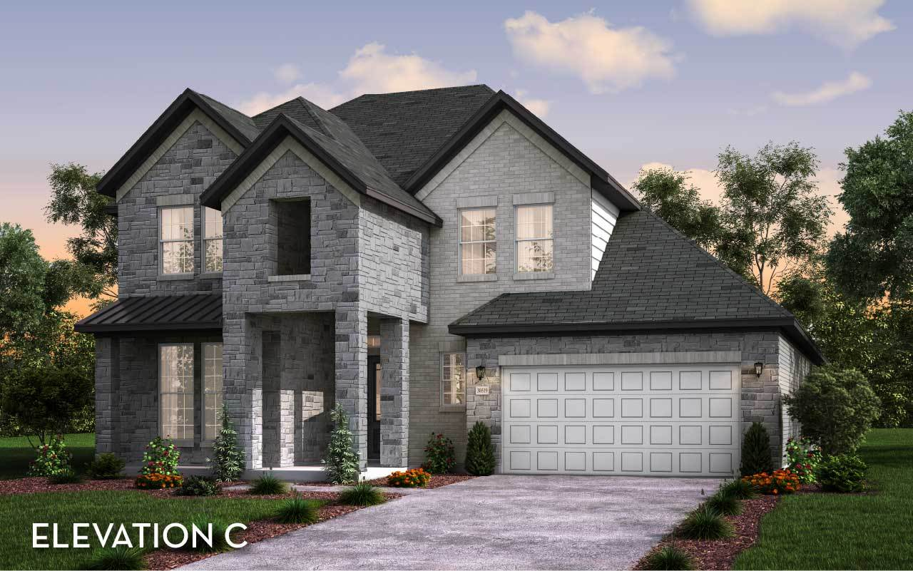 Exterior featured in the Sonora By CastleRock Communities in Houston, TX