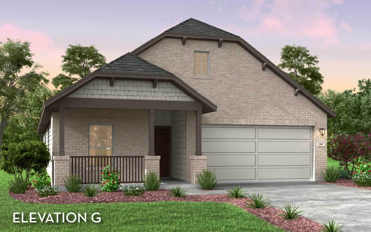 Exterior featured in the Sioux-Silver By CastleRock Communities in San Antonio, TX