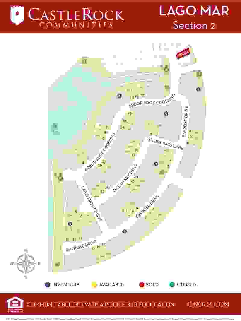 Lago Mar Section 2 Map