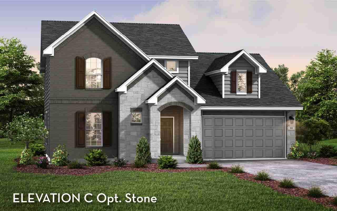 Dickinson Elevation C Opt Stone