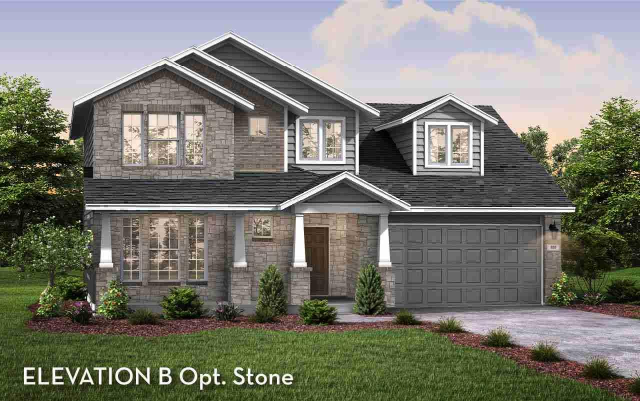 Dickinson Elevation B Opt Stone